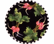 Black Radish/ Deep Salad Plate