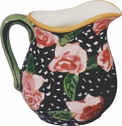Black Rose Large Pitcher