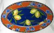 Blue Lemon/Large Oval Platter