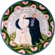 Bride and Groom Large Platter