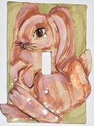 Bunny Light Switch Cover