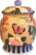 Butterfly Cookie Jar