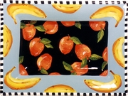 Checkers Rectangular Platter