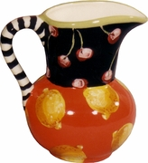 Cherry Lemon Jug