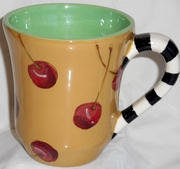 Cherry/Yellow Mug