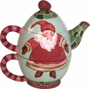 Christmas Gnome - Tea For One