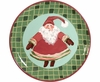 Christmas Gnome - Unrimmed Salad Plate