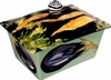 Eggplant/Carrot Butter Dish