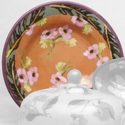 Fall Floral Big Rimmed Bowl