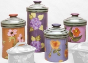 Fall Floral Canister Set