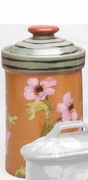 Fall Floral Large Cannister