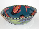 Fish Lily Large Mixing Bowl