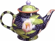 Fish Lily Large Tea Pot