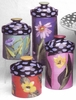 Flower Garden- Canister set of 4