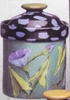 Flower Garden- Medium Canister