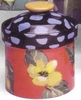 Flower Garden- Small Canister