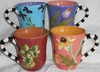 Flower Patch Mug Set of 4