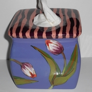 Flower Patch Tissue Holder/Tulip