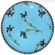 Flower Patch/Violets Salad Plate