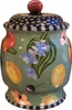 Fruit Blossom Cookie Jar