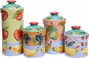 Fruit Squared Canister Set