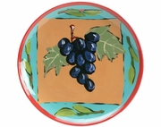 Fruit Squared Salad Plate/Grape