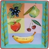 Fruit Squared Square Charger