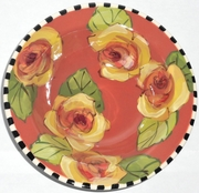 Golden Yellow Rose/Deep Salad Plate