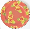 Golden Yellow Rose Dinner Plate