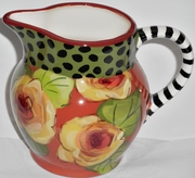 Golden Yellow Rose/Large Creamer