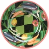 Harlequin Big Rimmed Bowl