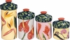 Hawaiian Flower Canister set of 4