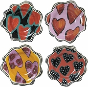 Hearts Dessert Cup Set of 4