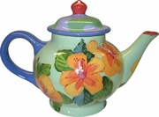 Hibiscus Wave/ Large Tea Pot