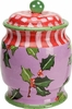 Holly Cookie Jar