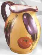 Italian Eggplant Big Pitcher