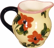 Lemon Poppy Large Creamer