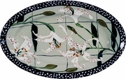 Lily Large Oval Platter