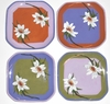 Lotus/ Square Dessert Plate Set