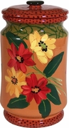 Mary's Daisy Large Biscuit Jar