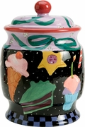 Midnight Snacker Cookie Jar