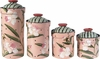 Peony Canister Set of 4