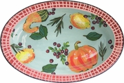 Pumpkin - Large Oval Platter