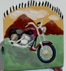 Ride Like the Wind/Business Card Holder