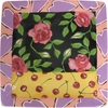 Rose Cherry Square Charger