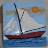 Sail Away/ Business Card Holder