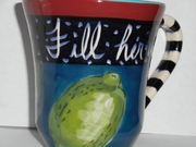 "Second Quality  ""Fill her up"" Mugs"