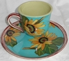 Spring Fling/ Tea and Biscuit Plate Set