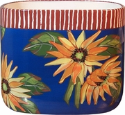 Sunflower/Blue Utensil Bin