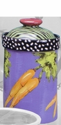 Teal Vegetable/ Large Cannister